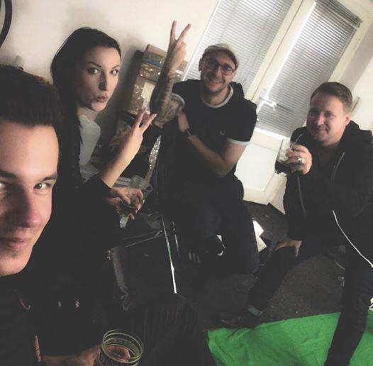 Benno Mielke, Jenny Haufe, Marko Rujner, Mario Ruehlicke